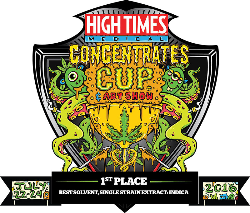 1st Place - Best Indica Extract