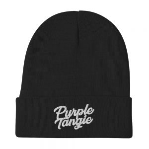 Purple Tangie Beanie
